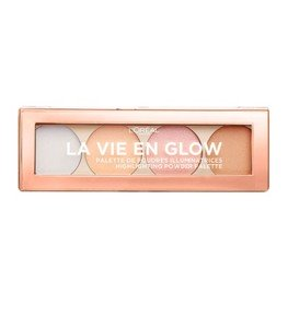 La Vie En Glow Highlighting Powder Palette - Cool Glow -